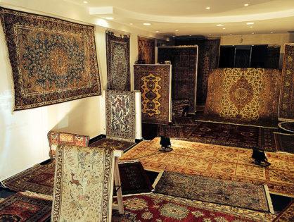 Vente et restauration de tapis persans en Belgique