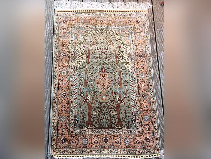 Nettoyage tapis persan Cannes