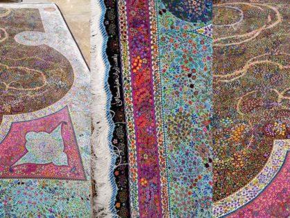 Nettoyage lavage et réparation de tapis à la main Tassin-la-Demi-Lune 69160